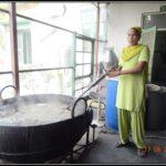 Bhatti Section of Ayurvedic company factory
