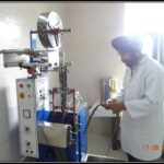 Pouch (Sachet) filling and sealing machine section