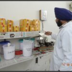 Cream and ointment raw material section