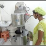Double jacketed planetary mixer to manufacture herbal creams and ayurvedic ointments