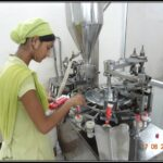 Filling, Sealing & Batch coding of Ointment tubes