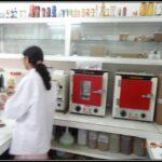 Muffle furnace in laboratory